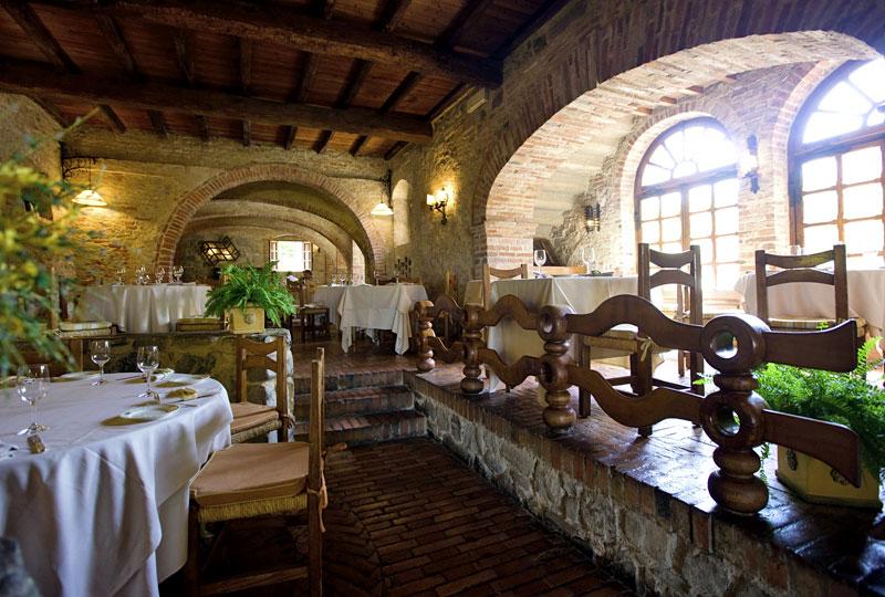 l 39 amorosa ristorante nella campagna toscana siena