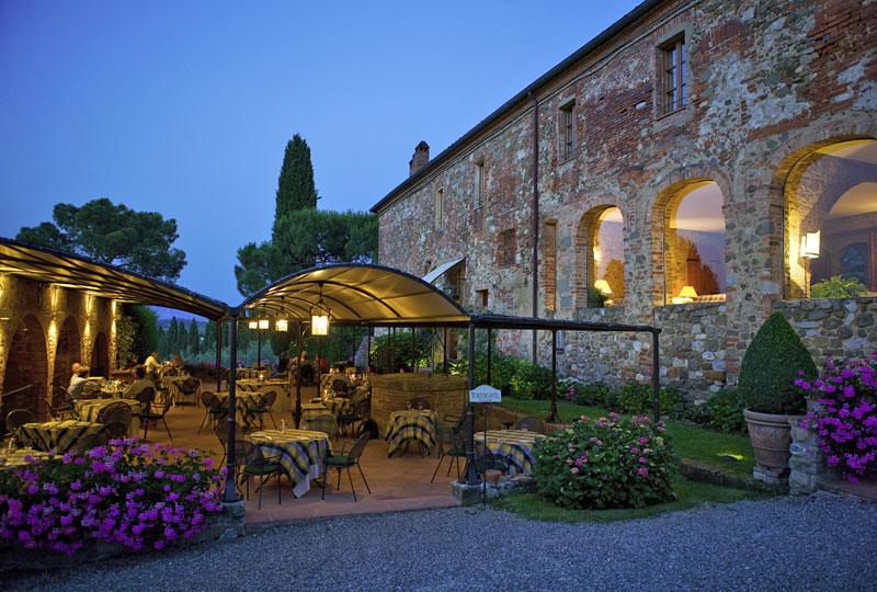 L Amorosa Country Restaurant Tuscany Siena